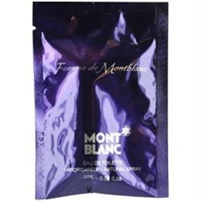 Picture of Mont Blanc Femme By Mont Blanc Edt Spray Vial On Card Mini