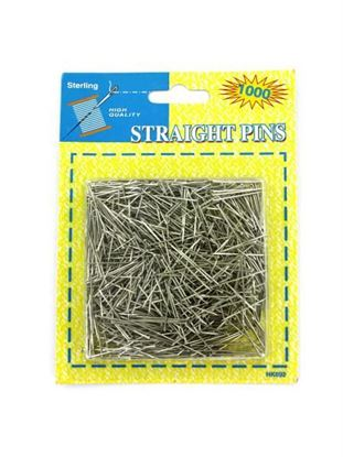 Picture of Straight pins value pack (Available in a pack of 24)