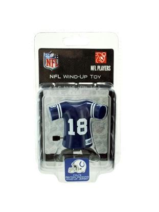 Picture of Indianapolis Colts Peyton Manning wind-up toy (Available in a pack of 8)