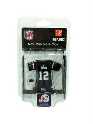 Picture of New England Patriots Tom Brady wind-up toy (Available in a pack of 8)