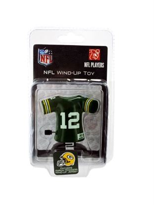 Picture of Green Bay Packers Aaron Rodgers wind-up toy (Available in a pack of 8)