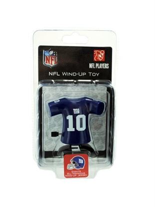 Picture of New York Giants Eli Manning wind-up toy (Available in a pack of 8)