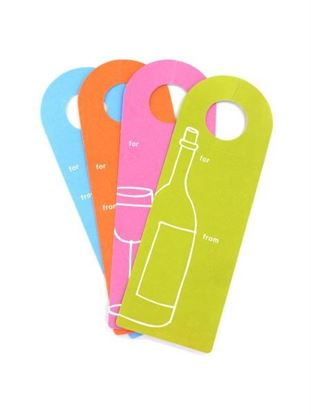 Picture of Wine bottle gift tags (Available in a pack of 36)
