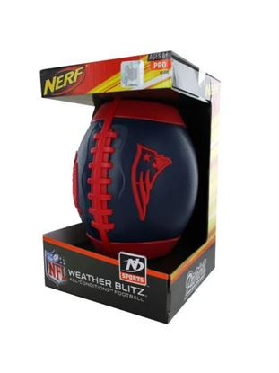 Picture of New England Patriots Nerf football (Available in a pack of 1)