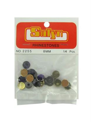 Picture of 8mm Purple Rhinestones (Available in a pack of 24)
