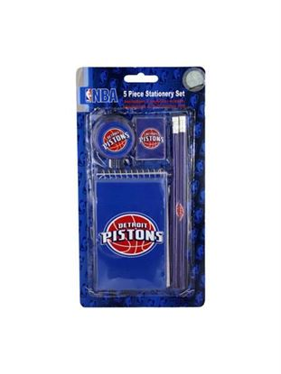 Picture of NBA Piston's stationery set (Available in a pack of 24)