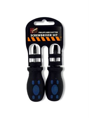 Picture of 2 piece screwdriver set (Available in a pack of 18)