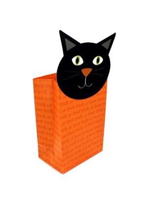 Picture of Trick or Treat cat gift bag (Available in a pack of 24)