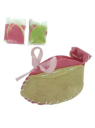 Picture of Baby Girl Booties Craft Kit (Available in a pack of 24)