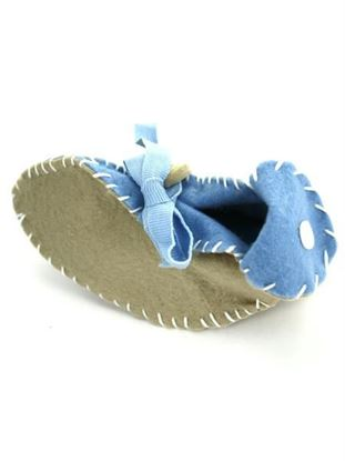 Picture of Baby Boy Booties Craft Kit (Available in a pack of 24)