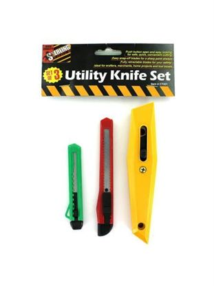 Picture of Utility knife set (Available in a pack of 24)