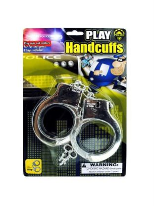 Picture of Police play plastic handcuffs (Available in a pack of 24)