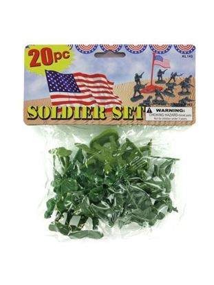 Picture of Plastic soldiers play set (Available in a pack of 24)