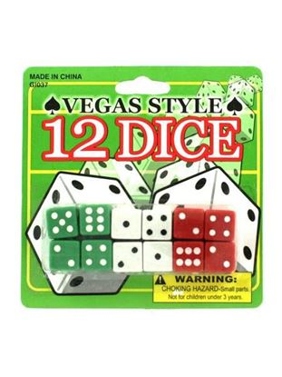 Picture of Vegas style dice (Available in a pack of 24)