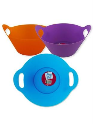 Picture of Plastic storage bowl with handle (Available in a pack of 18)