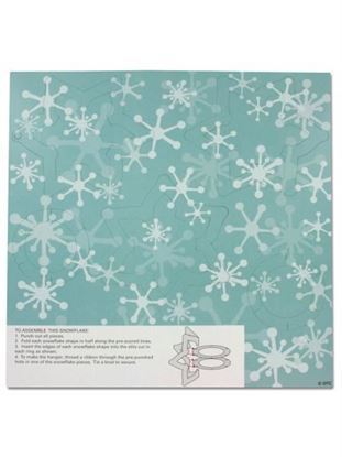 Picture of Snowflake And Star Ornament Kit (Available in a pack of 20)