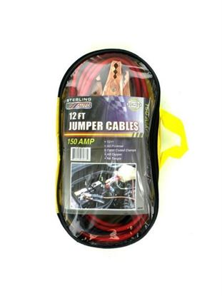 Picture of 12 Foot jumper cables (Available in a pack of 1)