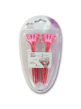 Picture of Ladies disposable razor set (Available in a pack of 24)
