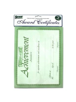 Picture of 10 Pack award certificates (Available in a pack of 24)
