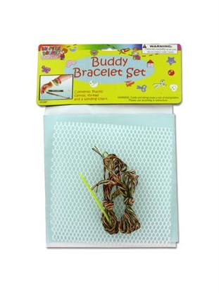 Picture of Buddy bracelet craft set (Available in a pack of 24)