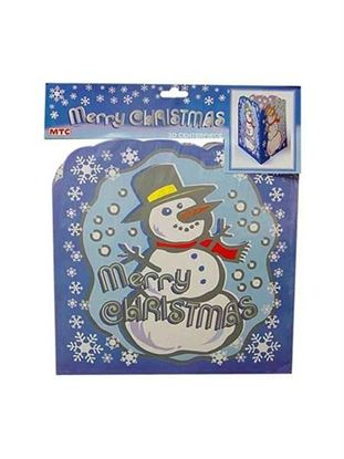 Picture of Snowman 3d cntrpc pf53 (Available in a pack of 24)