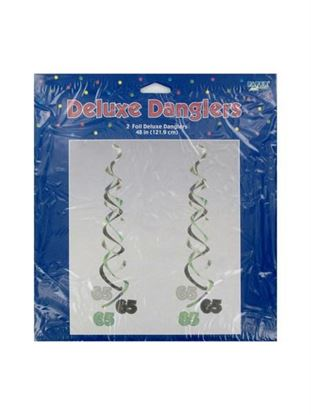 Picture of 65 birthday danglers (Available in a pack of 24)