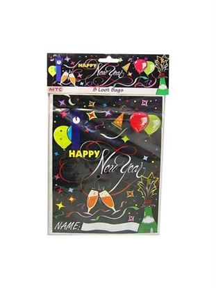 Picture of New Year's party bags, pack of 8 (Available in a pack of 24)