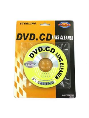 Picture of CD and DVD lens cleaner (Available in a pack of 36)