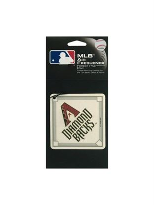 Picture of Arizona Diamondback baseball pine air freshener (Available in a pack of 24)