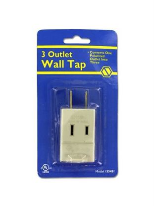 Picture of 3-outlet wall tap (Available in a pack of 18)