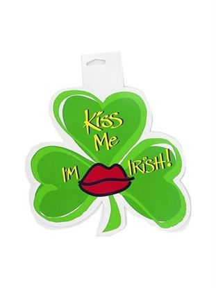 Picture of 8 Inch Shamrock Cutout (Available in a pack of 36)