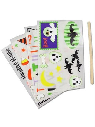 Picture of 180 Halloween Rub-Ons (Available in a pack of 25)