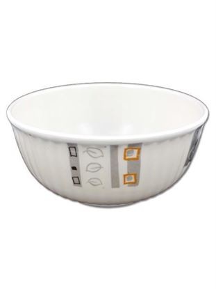 Picture of Melamine bowl with modern design (Available in a pack of 24)
