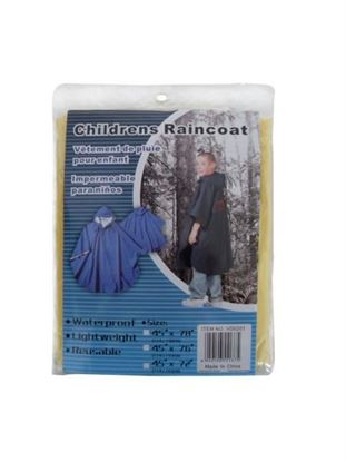 Picture of Children's rain coat (Available in a pack of 24)