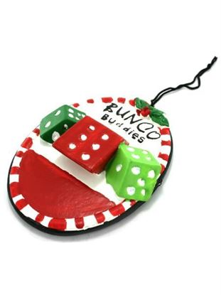 Picture of Bunco Buddies ornament (Available in a pack of 24)