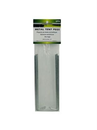 Picture of Metal tent pegs, pack of 6 (Available in a pack of 24)
