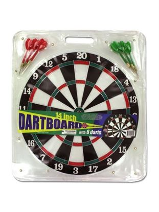 Picture of Dartboard with 6 darts (Available in a pack of 3)
