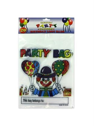 Picture of Carnival-theme birthday loot bags (Available in a pack of 24)
