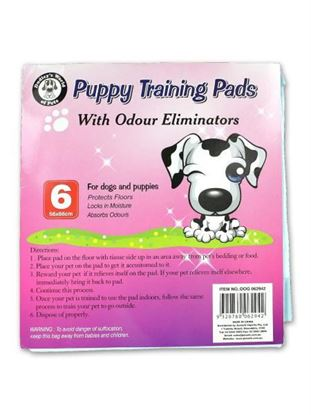 Picture of Puppy training pads (Available in a pack of 12)