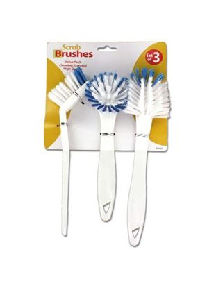 Picture of Household scrub brush set (Available in a pack of 6)