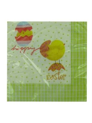 Picture of Easter napkins, package of 18 (Available in a pack of 20)