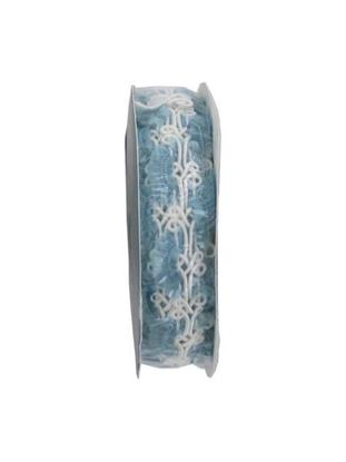 Picture of Blue/white 4.5 foot novelty braid spool (Available in a pack of 24)
