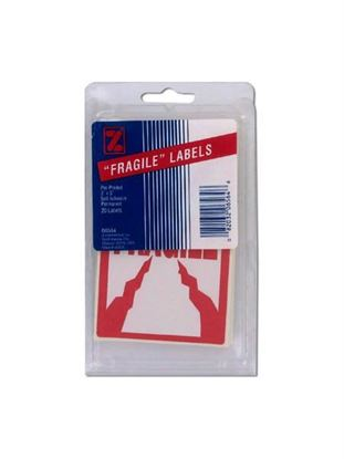 Picture of 20 pack 3 x 5 pre-printed fragile labels (Available in a pack of 36)