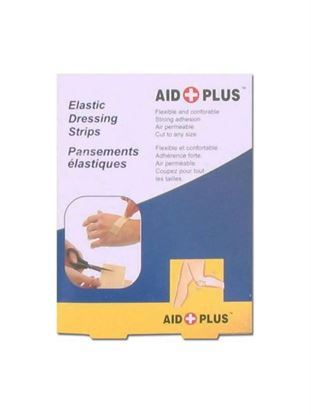 Picture of Elastic dressing strips for first aid, pack of 10 (Available in a pack of 24)