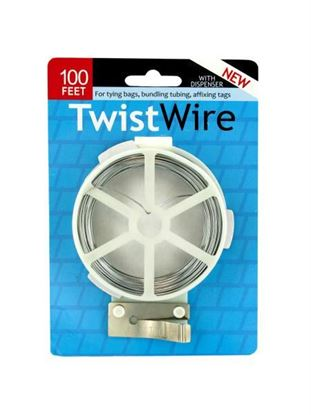 Picture of Twist wire with dispenser (Available in a pack of 24)