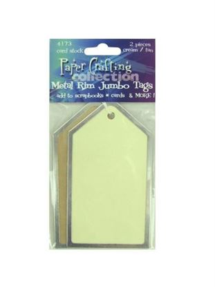 Picture of Jumbo metal-rim paper tags (Available in a pack of 30)