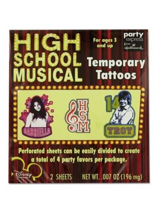 Picture of High School Musical Tattoos (Available in a pack of 24)