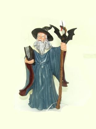 Picture of Aquarium wizard figurine, 7' (Available in a pack of 24)