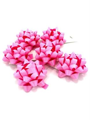 Picture of 3.25 in. pink bow (Available in a pack of 30)