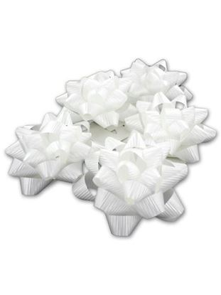 Picture of 3.25 in. white bow (Available in a pack of 30)